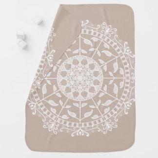 Wool Mandala Baby Blanket