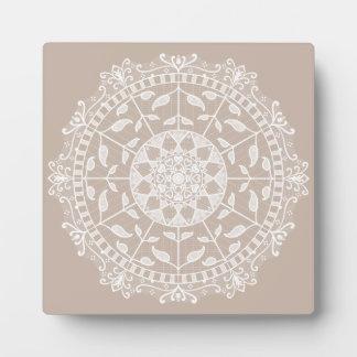 Wool Mandala Plaque
