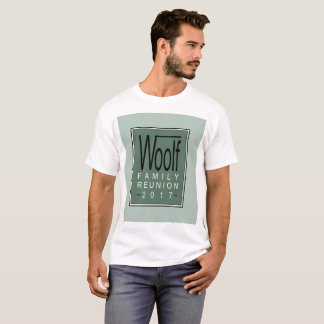 Woolf Family Reunion 2017 T-Shirt