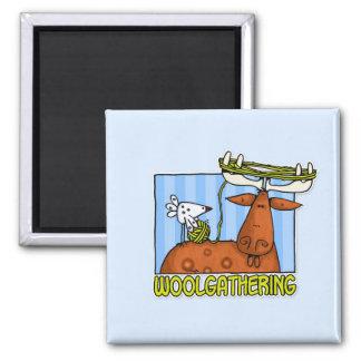 woolgathering square magnet