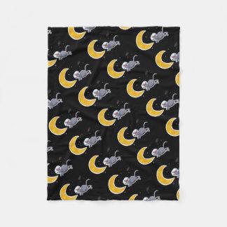 Woollen blanket - Mouse In Space
