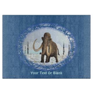 Woolly Mammoth Cutting Board
