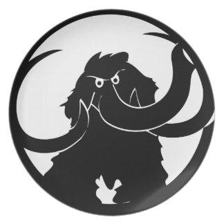 Woolly Mammoth Dinner Plate
