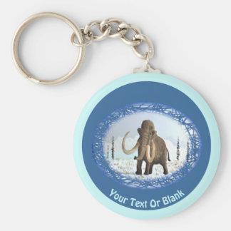 Woolly Mammoth Key Ring