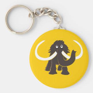 Woolly Mammoth Keychain