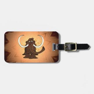 Woolly Mammoth Luggage Tag