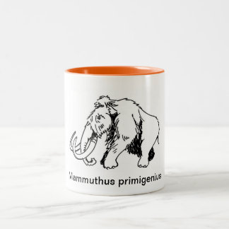 Woolly Mammoth Mug (Scientific Name)