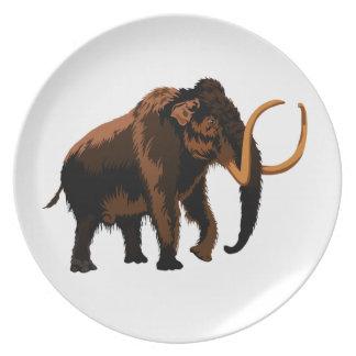 Woolly Mammoth Plates
