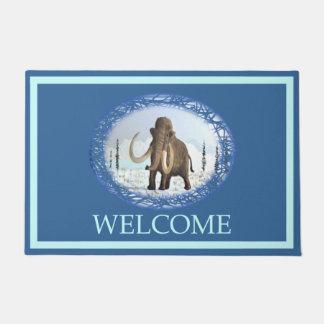 Woolly Mammoth - Welcome Doormat