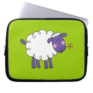 Woolly sheep laptop sleeve