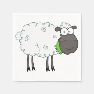 Woolly Sheep Paper Napkins Disposable Napkin