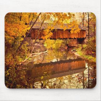 Woolslayer Covered Bridge Mousepads