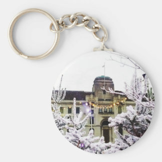 Woolwich - Christmas Equitable Building1 Key Ring