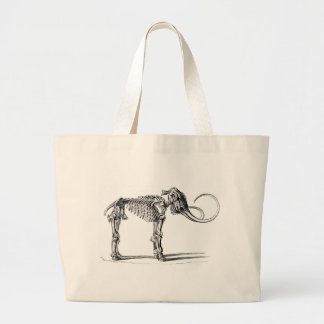 Wooly Mammoth Bones Large Tote Bag