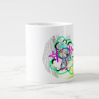 WoopWoop Mugz 20 Oz Large Ceramic Coffee Mug