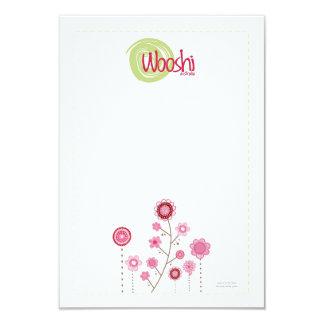 Wooshi Hair Clip Display Cards 9 Cm X 13 Cm Invitation Card