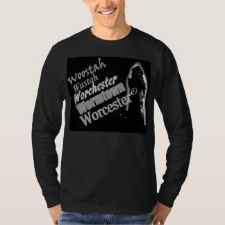 Woostah-Wormtown-Worcester (MA) long sleeve tee