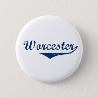Worcester 6 Cm Round Badge