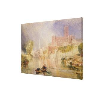 Worcester Canvas Print