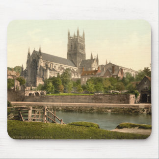 Worcester Cathedral II Worcestershire England Mousepad