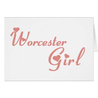 Worcester Girl Card