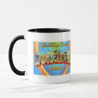 Worcester Massachusetts MA Vintage Travel Souvenir Mug