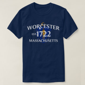 WORCESTER, MASSACHUSETTS T-SHIRT