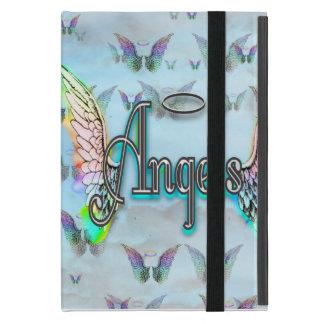 Word Art Angel with Wings & Halo iPad Mini Covers