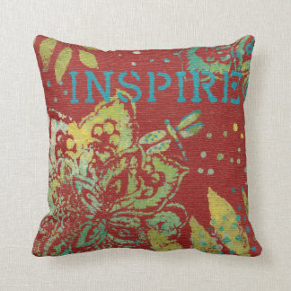 Word Art - Inspire Cushion