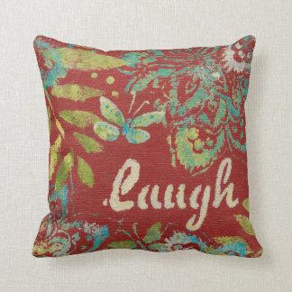 Word Art - Laugh Cushion