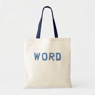 Word Tote Bags