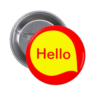 Word Bubble - Yellow on Red Button