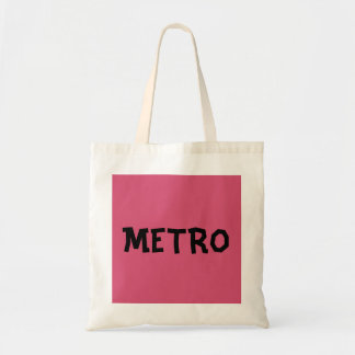 Word Budget Tote Bag