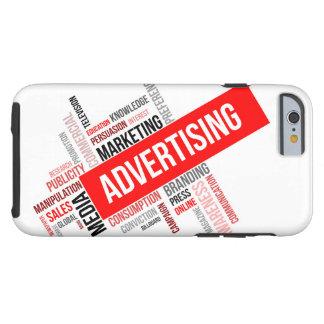 word cloud - advertising tough iPhone 6 case