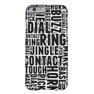 Word Cloud Barely There iPhone 6 Case
