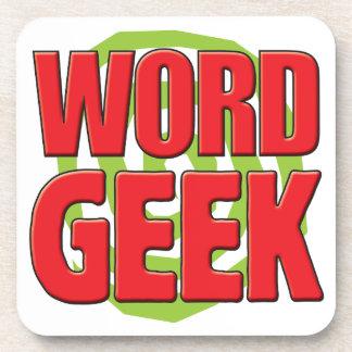 Word Geek Coaster