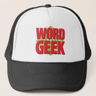 Word Geek v2 Trucker Hat