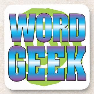 Word Geek v3 Beverage Coasters