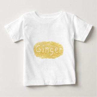 Word Ginger written in spice powder Baby T-Shirt