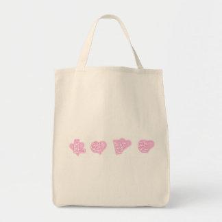 WORD LOVE BAGS