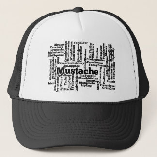 Word mashup trucker hat