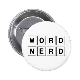 Word Nerd 6 Cm Round Badge
