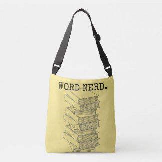 Word Nerd Book bag