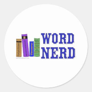Word Nerd Stickers