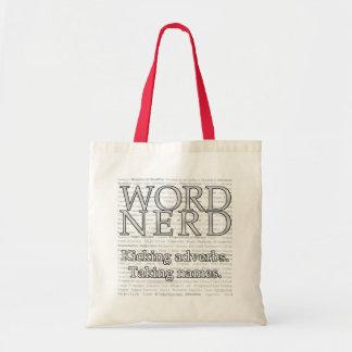 Word Nerd Tote Bags