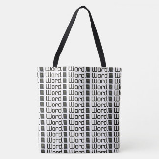 Word Tote Bag