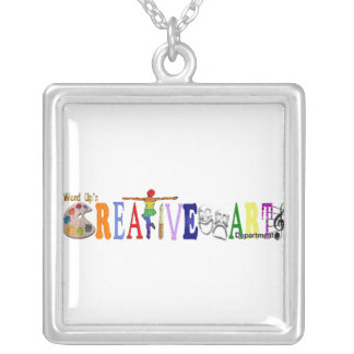 Word Up's Creative Arts Necklace