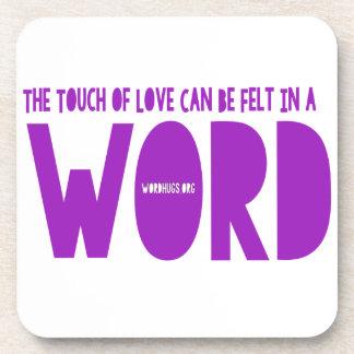 Word Word Coasters