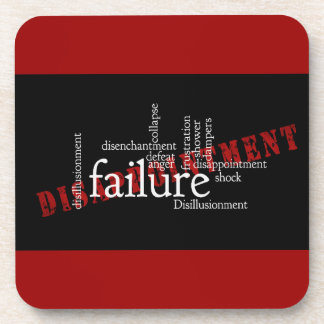 words-416435 words letters disillusionment disillu drink coaster