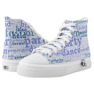 Words cloud sneakers